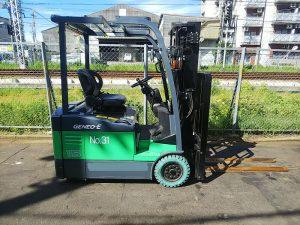 Xe nâng điện 3 bánh Toyota 7FBE15